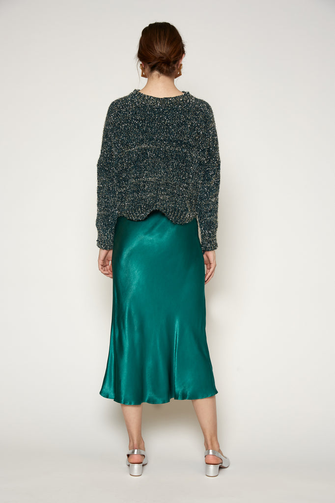 Clarice Satin Skirt