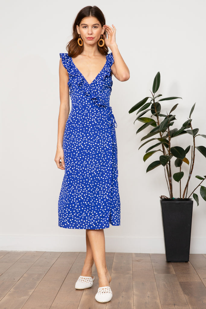 LUCY PARIS - Claudia Polkadot Dress