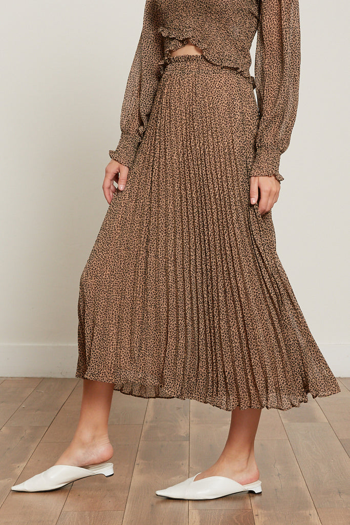 Cynthia Pleated Skirt