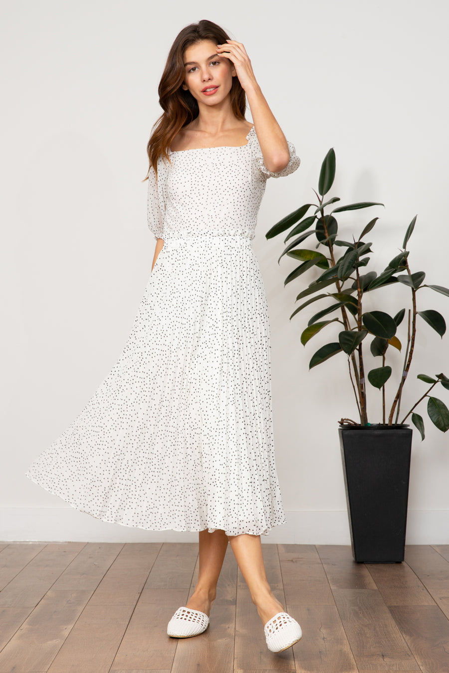 Dorothy Pleated Skirt