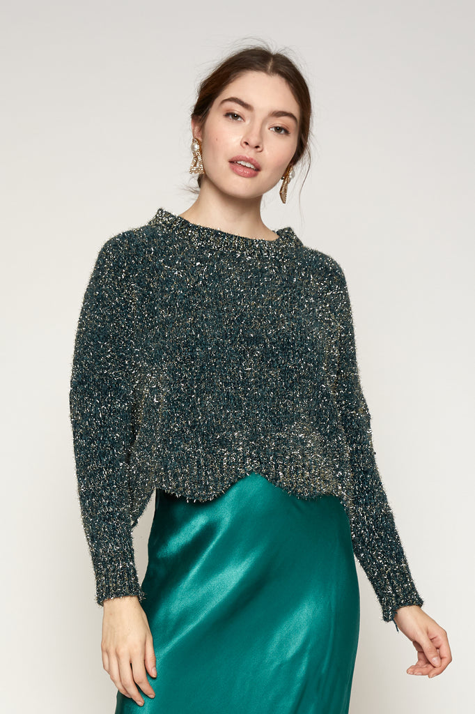 LUCY PARIS - Emely Glitter Sweater