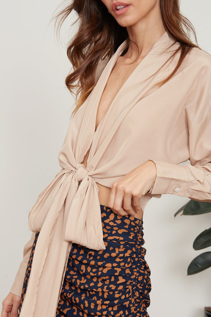 Gloria Wrap Top