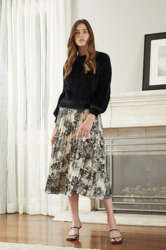 Helene Printed Skirt