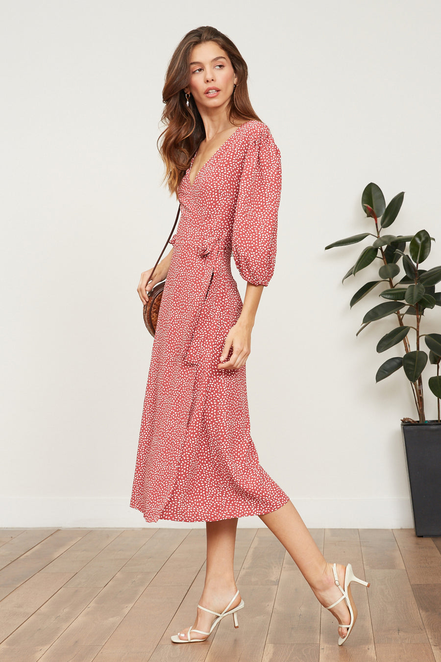 Ilana Wrap Dress