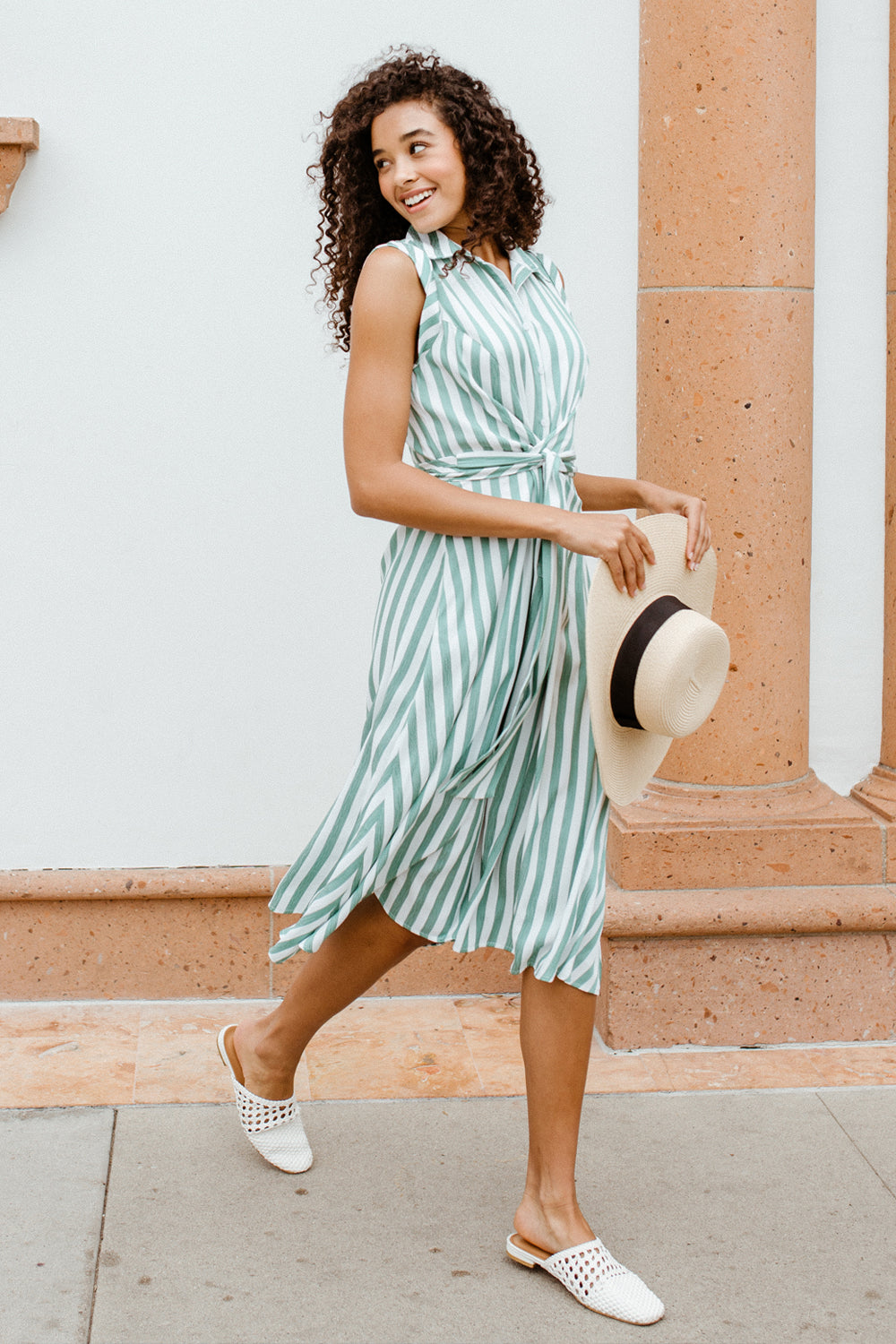 Indie Striped Dress