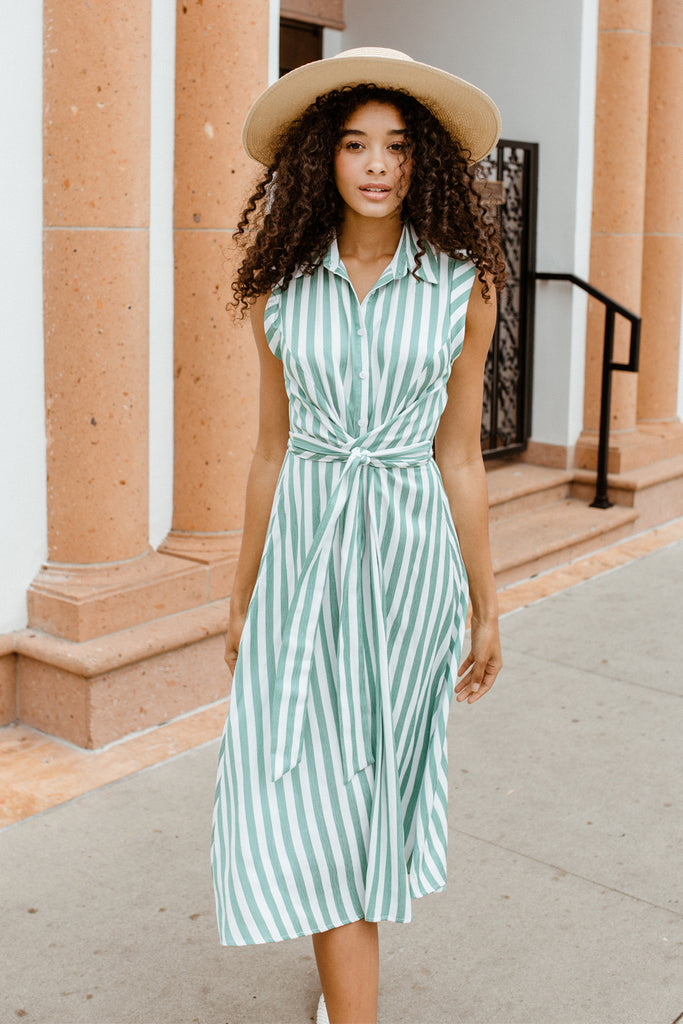 LUCY PARIS - Indie Striped Dress