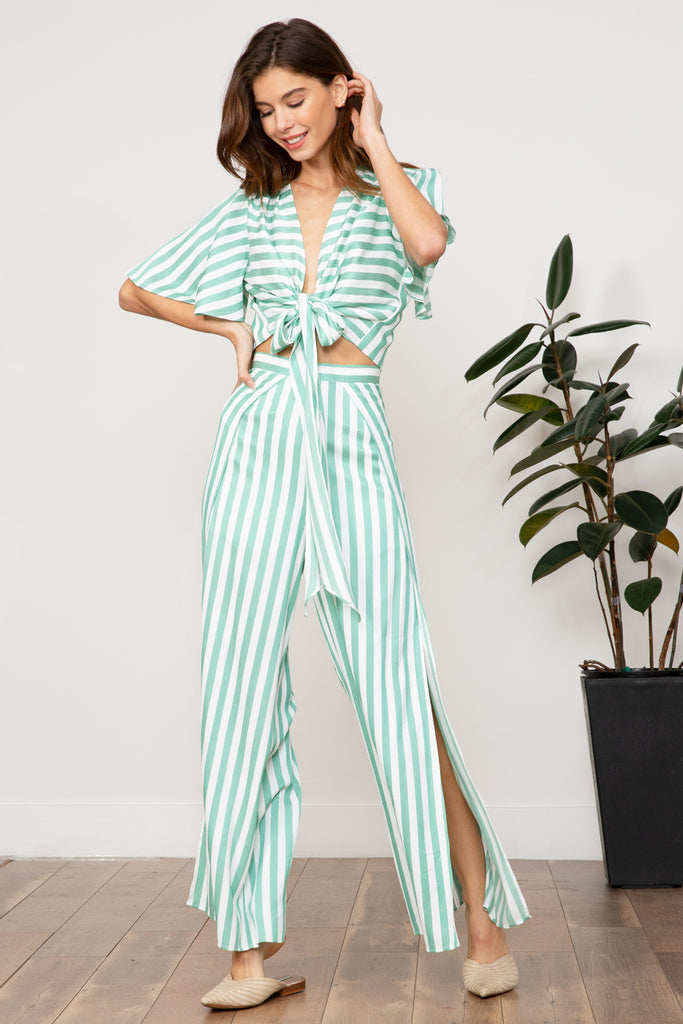 Lucy Paris - Indie Striped Pant