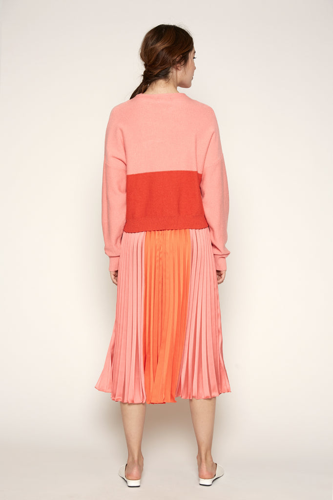 Janessa Color Block Skirt