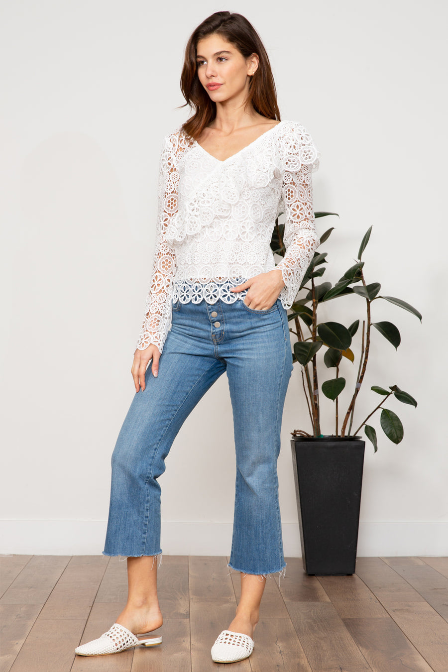 Jasmine Lace Long Sleeve