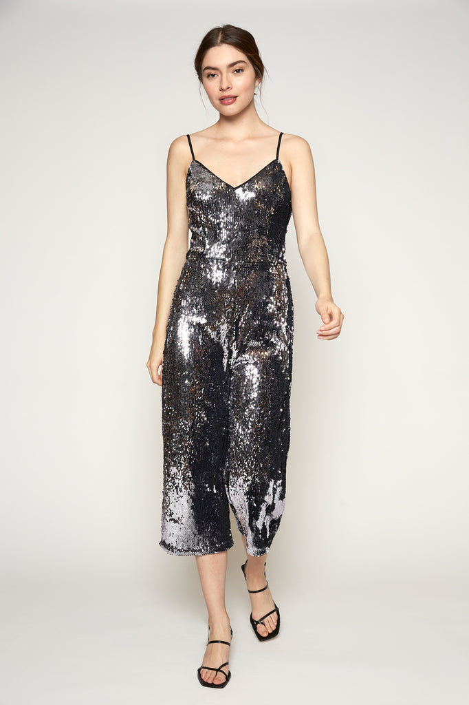 Lucy Paris - Jeane Sequined Jumpsuit