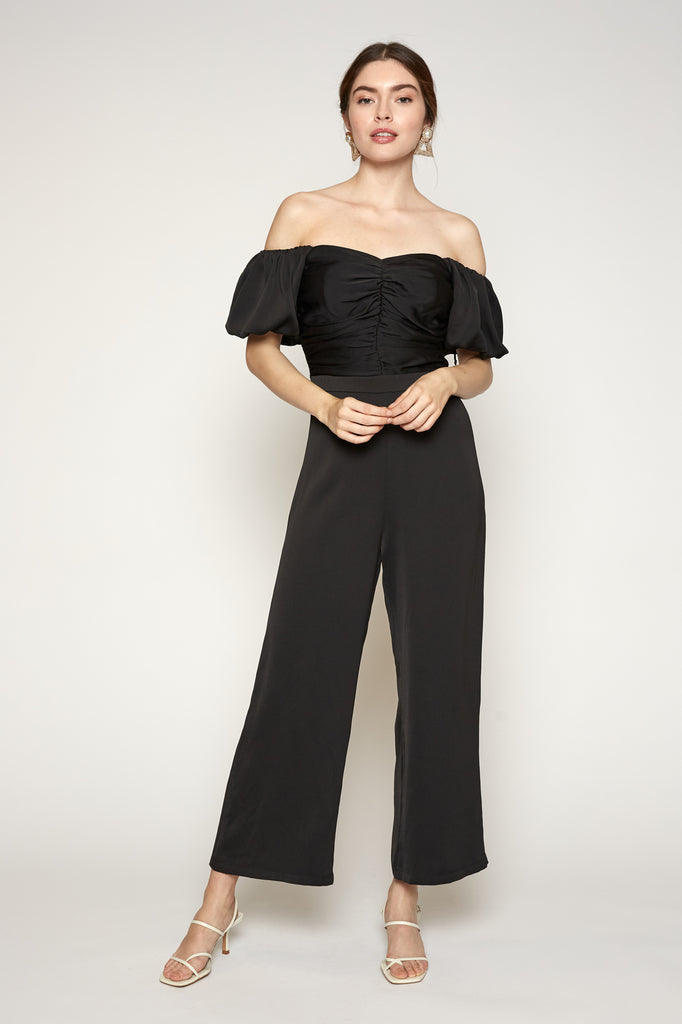 LUCY PARIS - Karina Ruched Jumpsuit