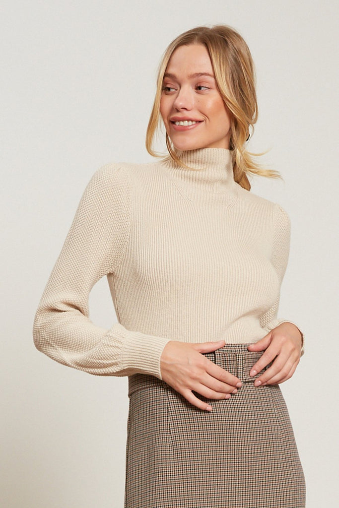 LUCY PARIS - KAIRA TURTLENECK SWEATER