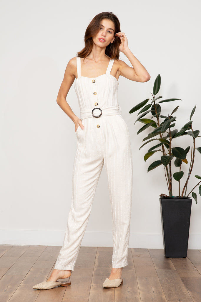 Lucy Paris - Kaia Belted Jumpsuit