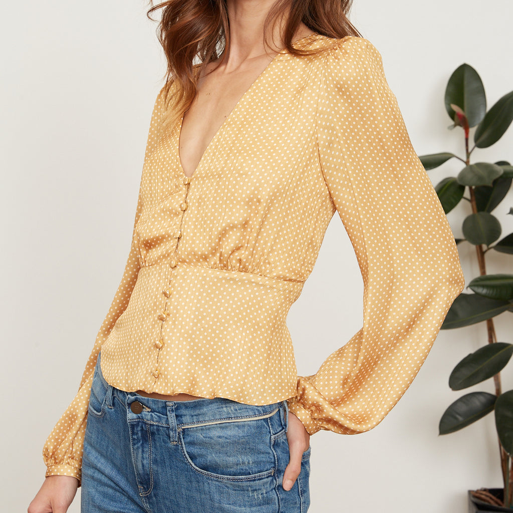 Layla Button Top