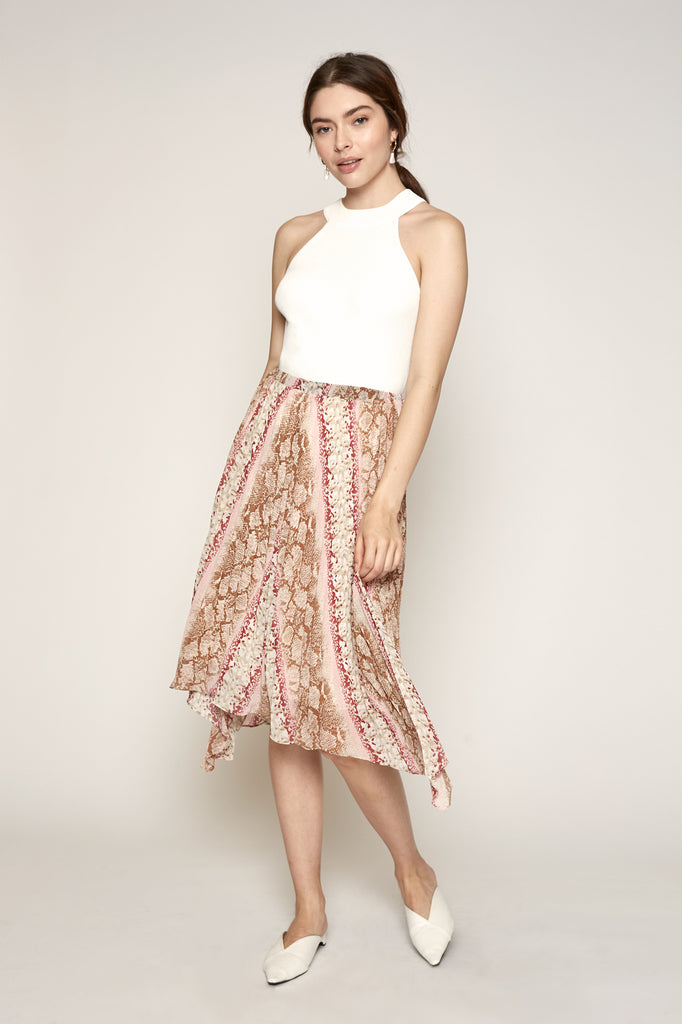 Leena Pleated Skirt