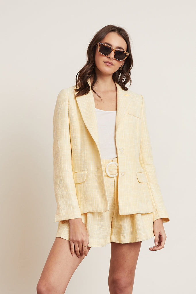 LUCY PARIS - Aaron Tweed Blazer