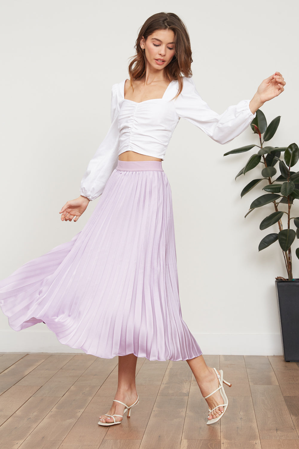 Lucy Paris - Adeline Pleated Skirt