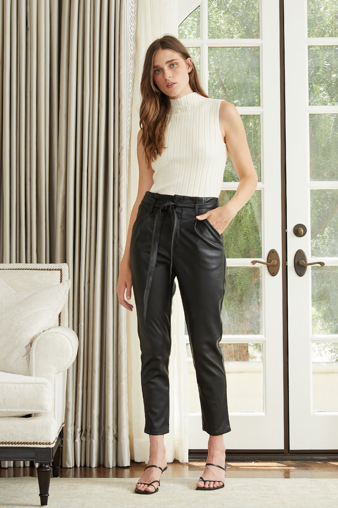 Lucy Paris - Alaina Faux Leather Pant