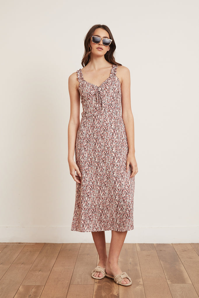 Lucy Paris - Anette Midi Dress