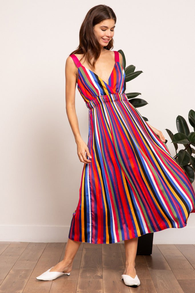 LUCY PARIS - Aurora Rainbow Dress