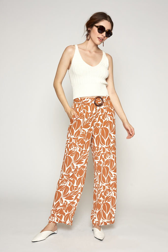 LUCY PARIS - Ayla Belted Pant