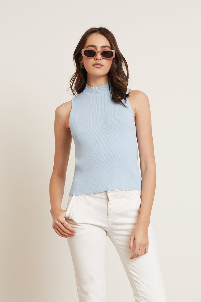 Lucy Paris - Bailey Mock Neck Top