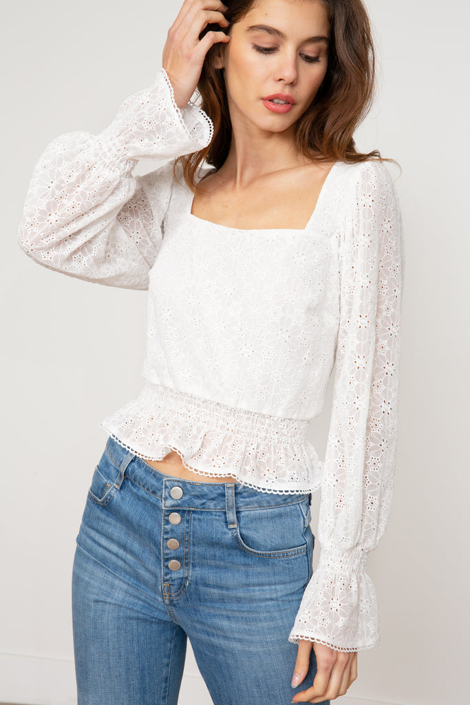 Lucy Paris - Brielle Lace Top