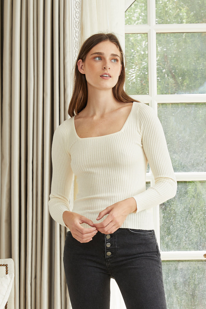 LUCY PARIS - Calais Knit Sweater