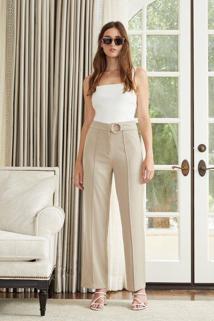 Lucy Paris - Christelle Belted Pant