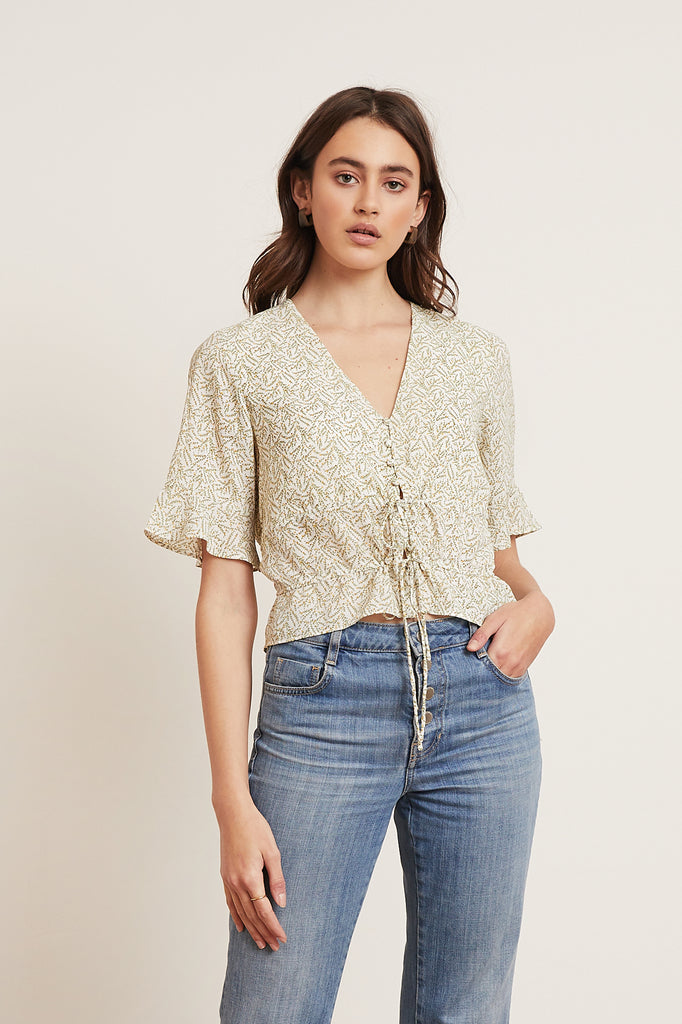 LUCY PARIS - Sara Floral Top