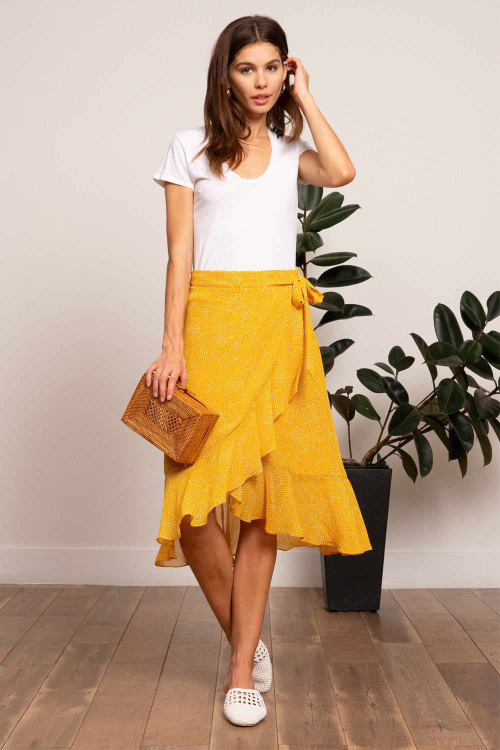 Lucy Paris- Hayley Tie Skirt