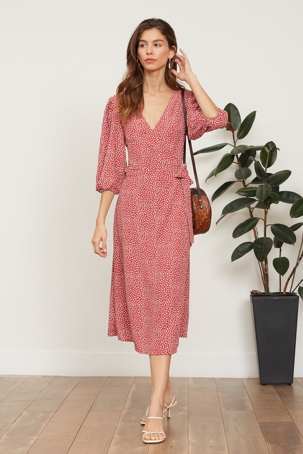 LUCY PARIS - Ilana Wrap Dress