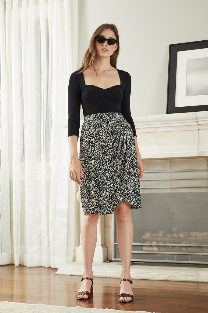 LUCY PARIS - Izzy Gathered Skirt