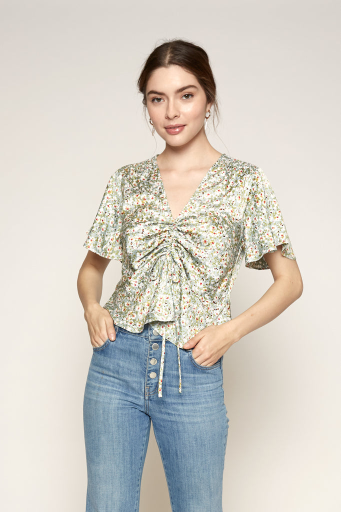Lucy Paris - Jac Gathered Top