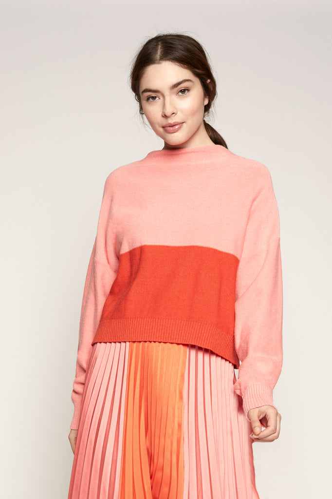 Lucy Paris - Janessa Color Block Sweater