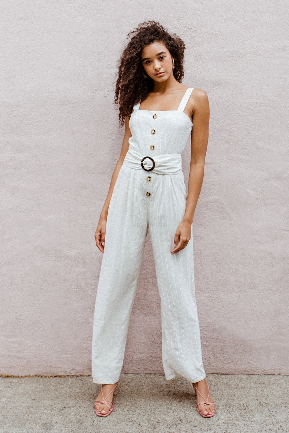 Kaia Belted Jumpsuit
