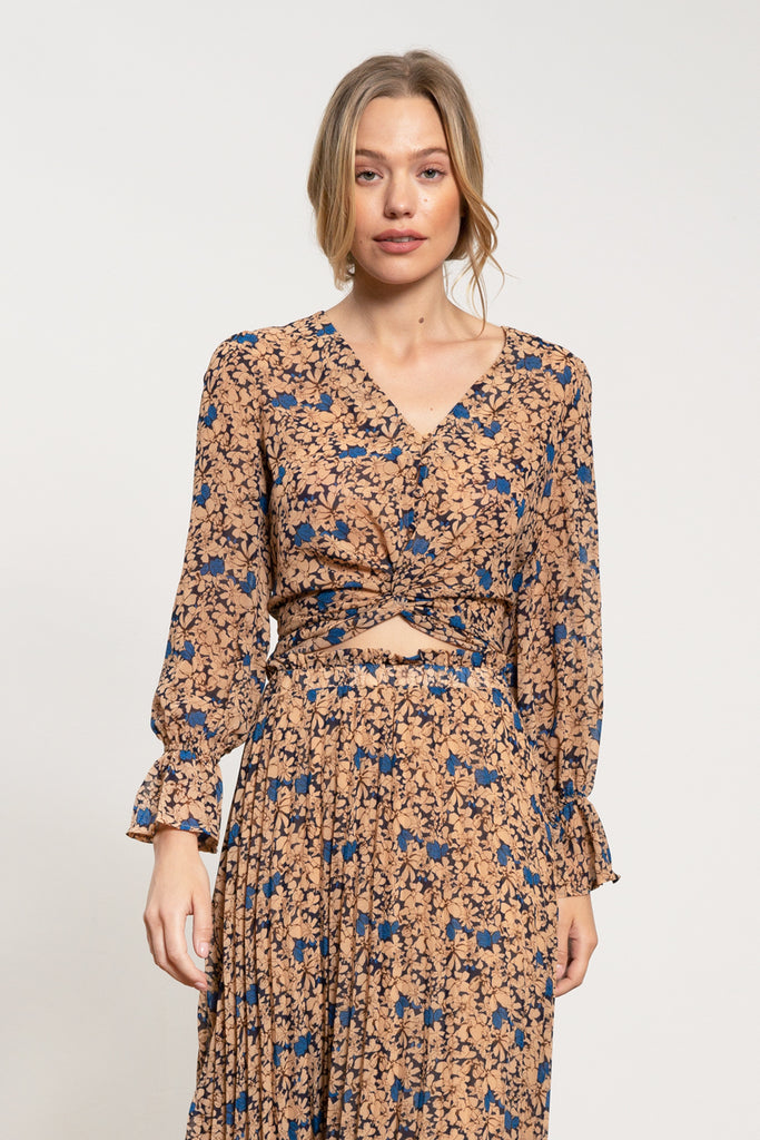 Lucy Paris - Kimberly Floral Top