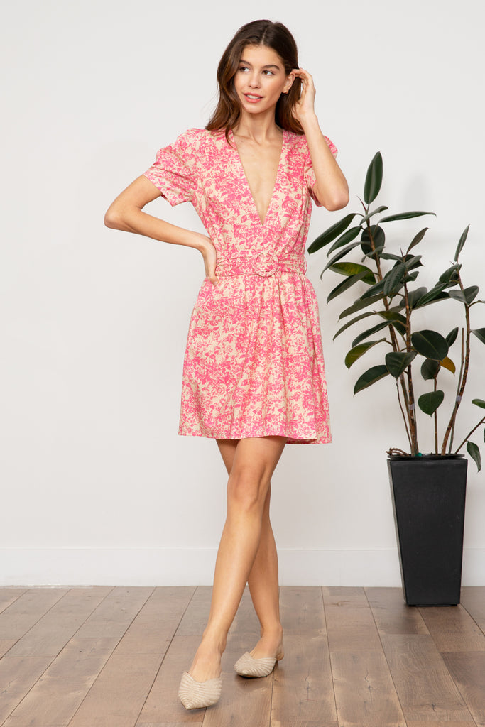 Lucy Paris - Kinsey Belted Dress