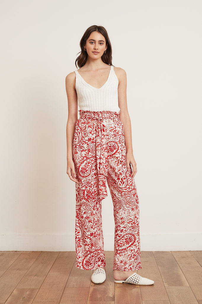 LUCY PARIS - Landon Paperbag Pant