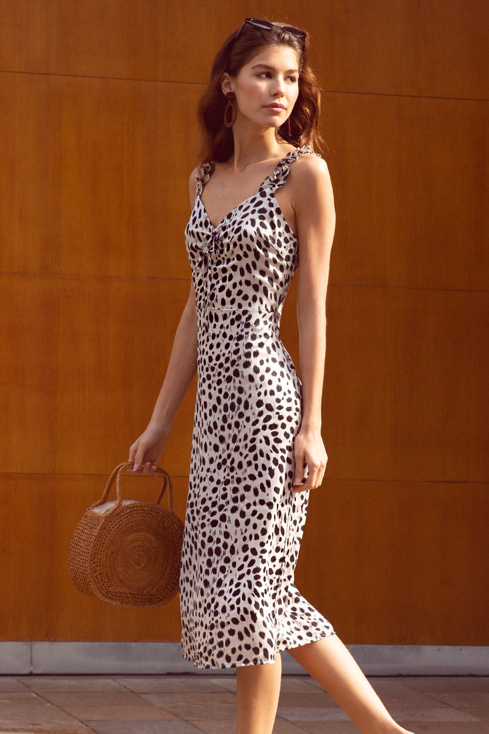 Sierra Animal Print Dress