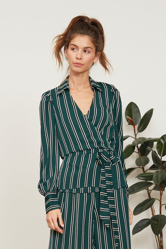 LUCY PARIS - Lola Striped Blouse