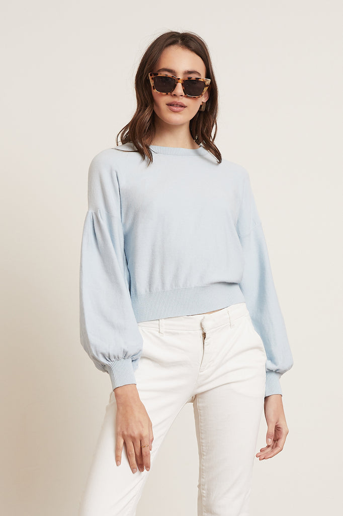Lucy Paris - Louisa Puff Sleeve Sweater