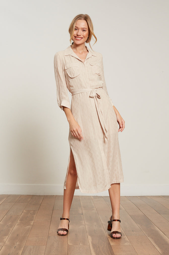 LUCY PARIS - Mabel Button Down Dress