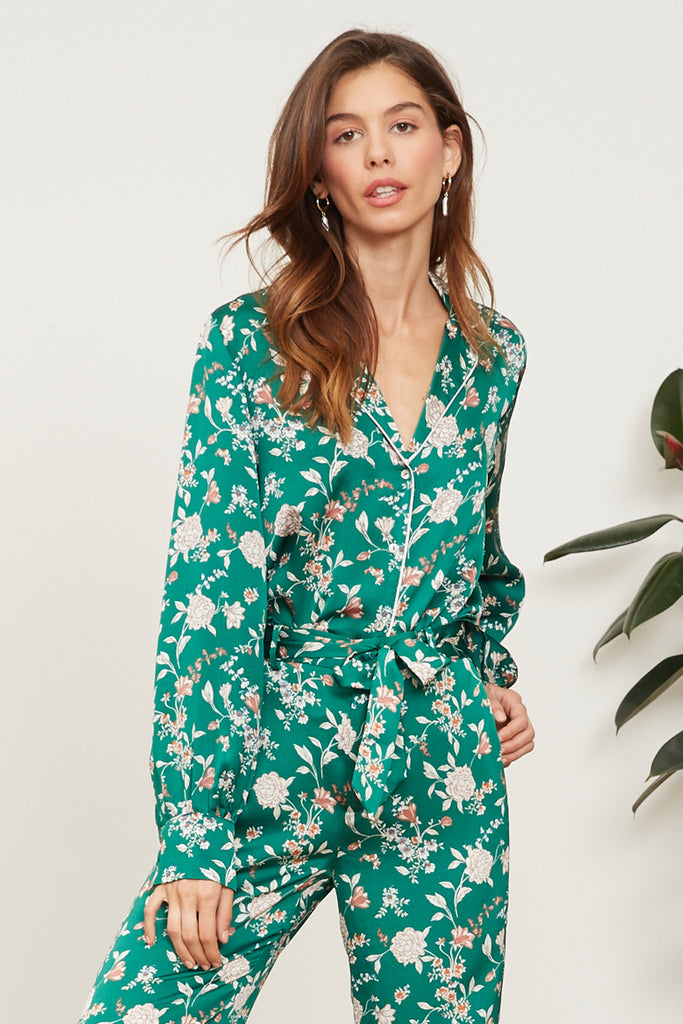 LUCY PARIS - Milan Floral Top