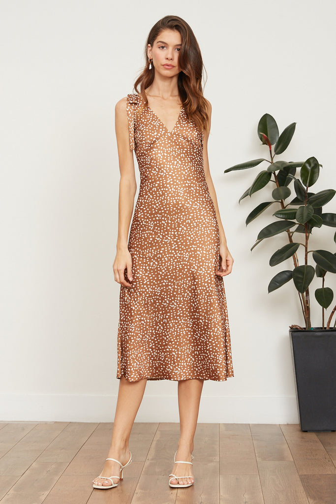 Lucy Paris - Noemi Polka Dot Dress