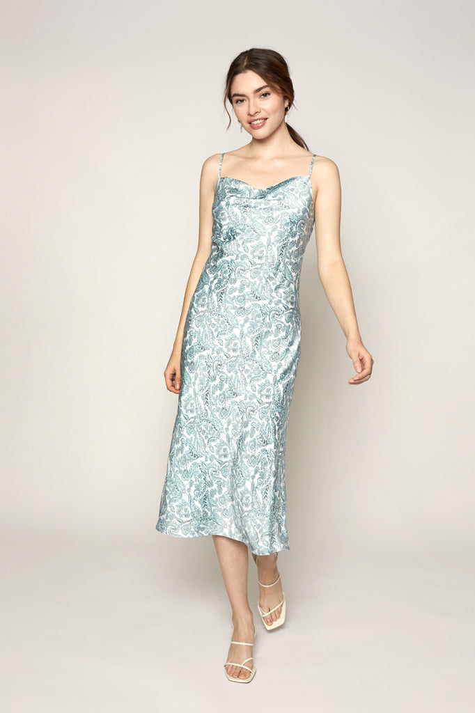 Lucy Paris - Paisley Slip Dress