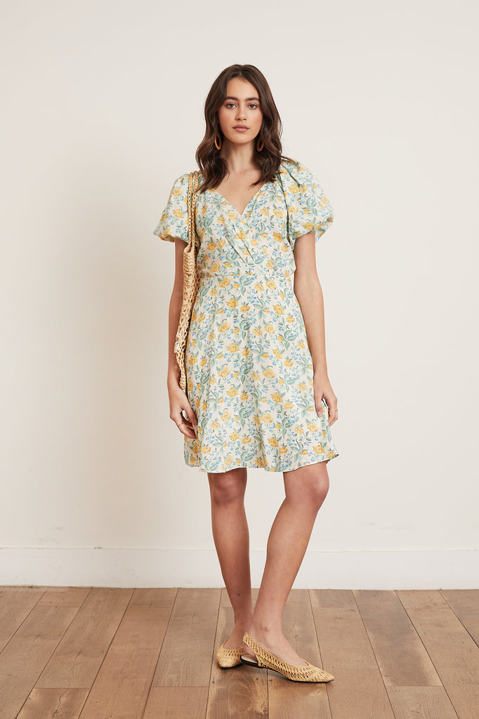 Lucy Paris - Raissa Floral Dress