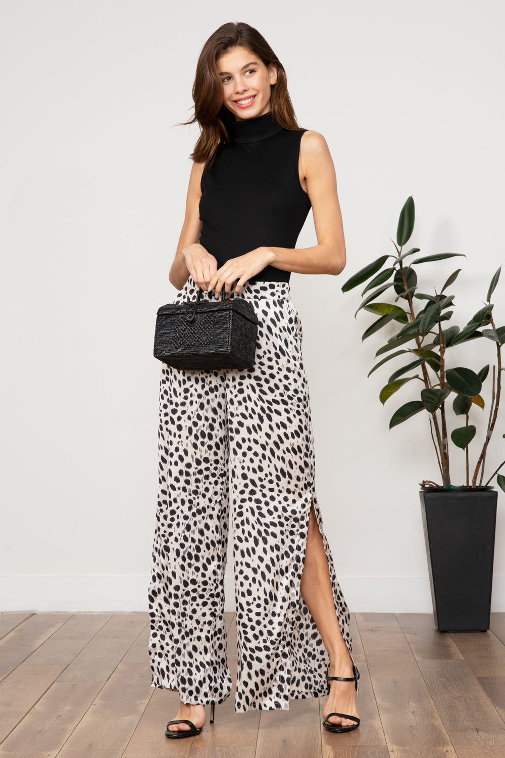 LUCY PARIS - Sierra Animal Print Pant
