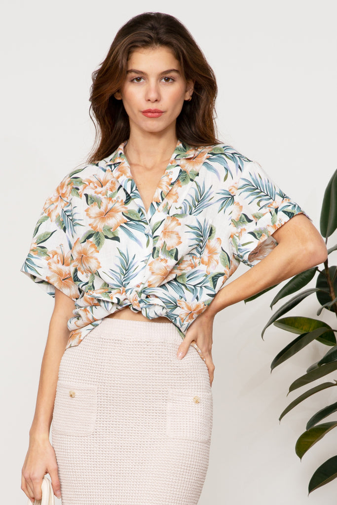 Lucy Paris - Steffi Floral Top