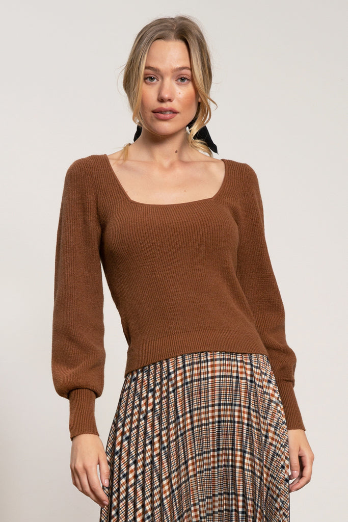 LUCY PARIS - Stella Knit Sweater